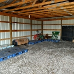 Newly organized Storage Shed (After)